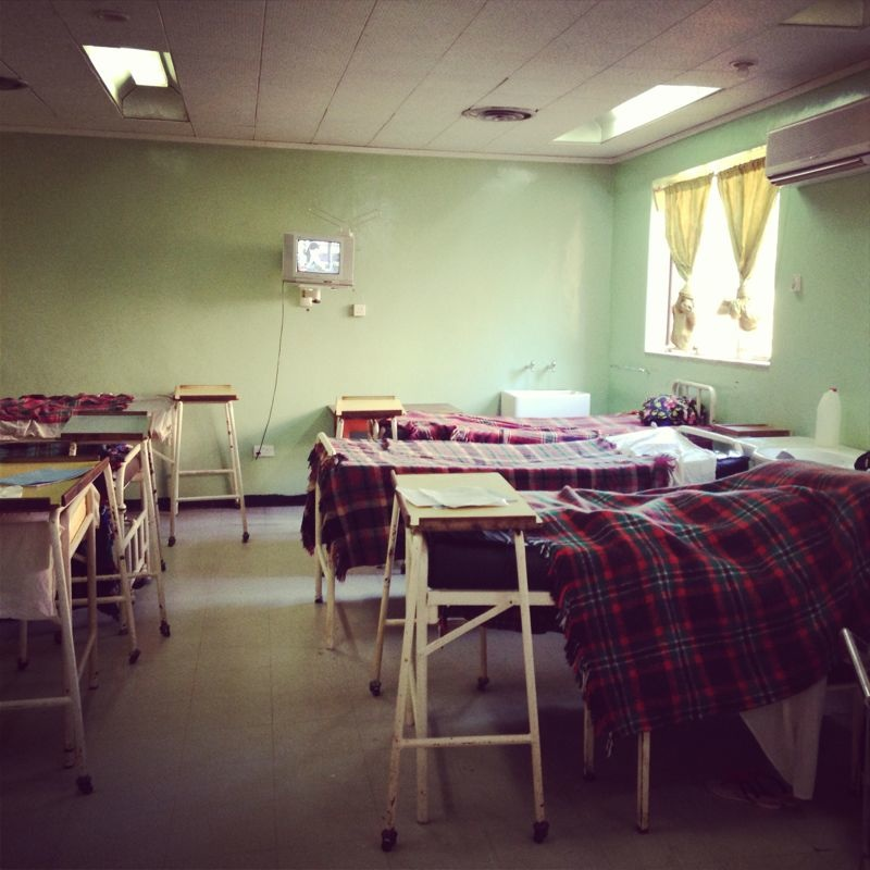 Beds in Hospital